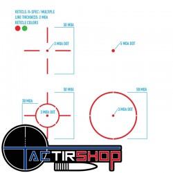 Point Rouge reflex Ultra Shot R-Spec Noir Multi-Réticule sur www.tactirshop.fr