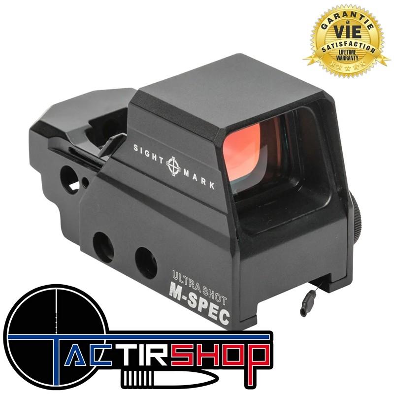 Point rouge reflex Sightmark Ultra Shot M-Spec FMS sur www.tactirshop.fr