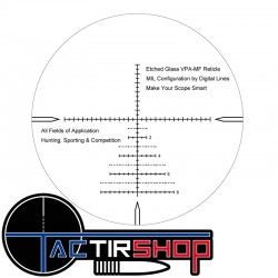 Lunette de visée Vector Optics Marksman 6-24x50FFP Milrad sur www.tactirshop.fr