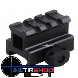"Rehausse picatinny 3 slot 0.83"" Vector Optics sur www.tactirshop.fr"