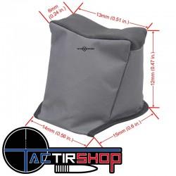 Lot de 3 coussin + sac de transport pour le tir de précision longue distance sur www.tactirshop.fr
