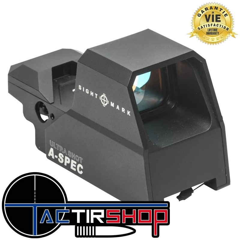 Point Rouge reflex Ultra Shot A-Spec Noir Multi-Réticule sur www.tactirshop.fr