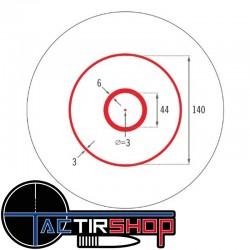 Point rouge Spitfire 1x AR avec réticule DRT de Vortex sur www.tactirshop.fr