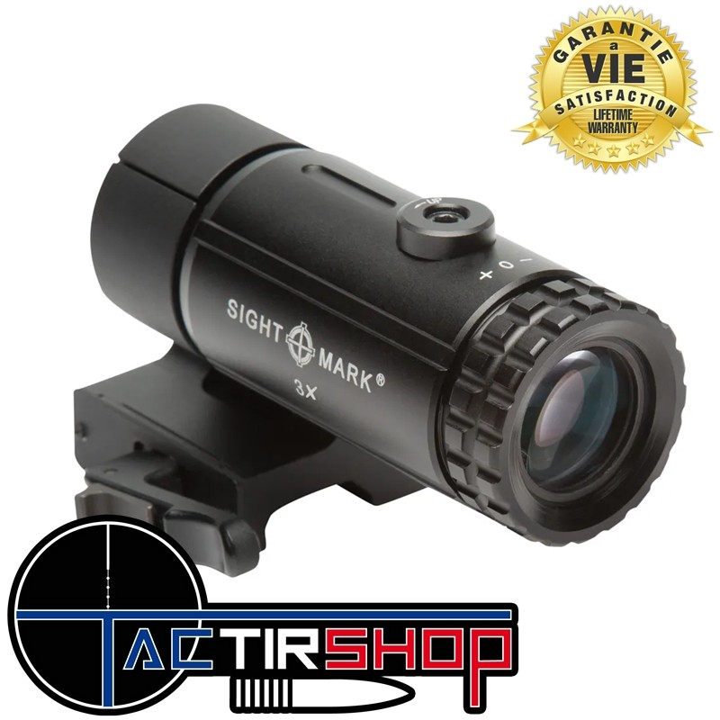 Magnifier Sightmark T-3 avec support LQD sur Tactirshop