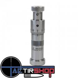 Siégeur de balle  micrométrique L.E. Wilson 338 Lapua sur www.tactirshop.fr