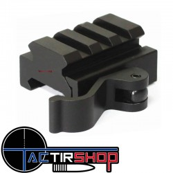 Rehausse picatinny 3 slot 15 mm à attache rapide Vector Optics www.tactirshop.fr