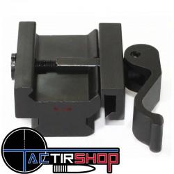 Rehausse picatinny 3 slot 15 mm à attache rapide Vector Optics www.tactirshop.fr