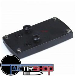 Plaque de montage interface point rouge Vrctor optics pour Glock sur Tactirshop