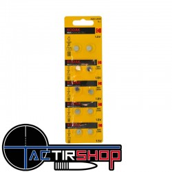 Pile AG5-LR48  Kodak max lithium par lot de 5 x 2 pilles  sur Tactirshop
