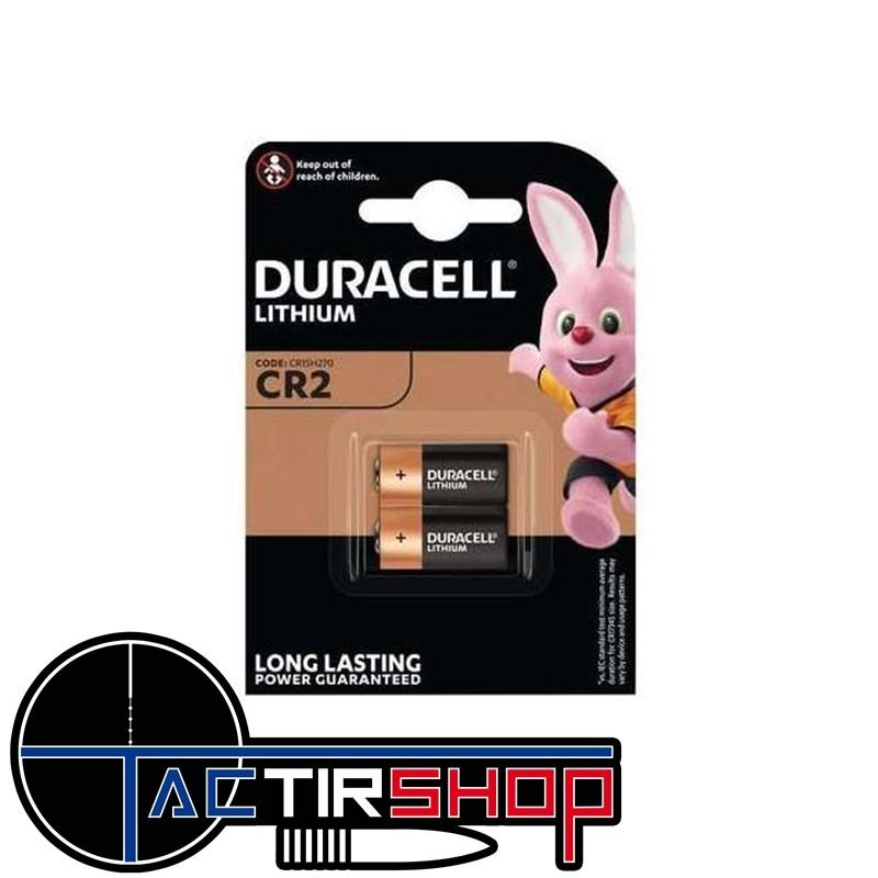 Duracel cr2 par lot de 2 pilles Sur Tactirshop