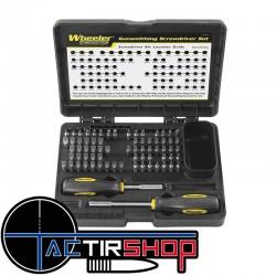 Wheeler Engineering 89-Pièces Professional-Plus Kit de Tournevis Armurier www.tactirshop.fr