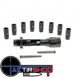 Siégeur d'ogives micrométrique multi-calibres Frankford Arsenal sur www.tactirshop.fr