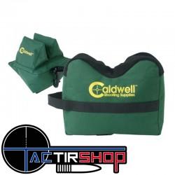 Caldwell DeadShot Set Sacs de Tir Avant & Arrière Cordura Vides sur www.tactirshop.fr