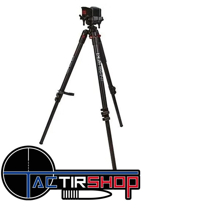Trépied de tir télescopique en carbone Bog DeathGrip www.tactirshop.fr