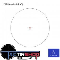 DELTA Hornet 1-6x24 SFP D²BR www.tactirshop.fr