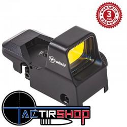 Point rouge Impact XL Reflex Sight Firefield avec 4 Réticules différents Sur www.tactirshop.fr