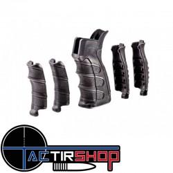 Poignée pistolet haut de gamme avec jeu de poignées et appui pomme, compatible AR-15 / AR-10  www.tactirshop.fr