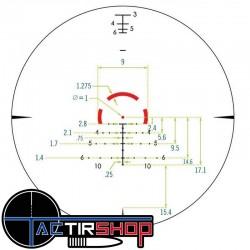 Détail du reticule Vortex Strike Eagle 1-8x24 AR-BDC3
