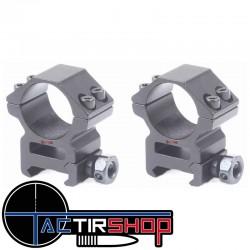 Colliers Vector Optics 25.4 mm moyen rail picatinny www.tactirshop.fr