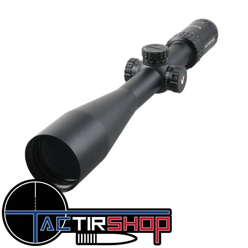 Lunette de tir Victoptics AGN 6-24X50 MDL pour 22 long rifle sur www.tactirshop.fr