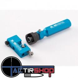 Kit Tourneur de collet micro adjustable K&M www.tactirshop.fr