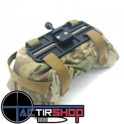 Plaque V interface de fixation du sac de tir Prs sur carabine au standart Picatinny www.tactirshop.fr