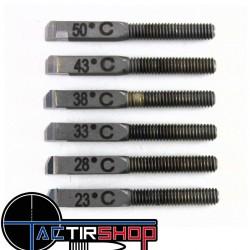 Cutter de rechange 50°(coupe standard) acier carbure pour Kit Tourneur de collet micro ajustable K&M www.tactirshop.fr