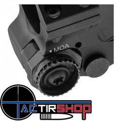 Réglage de l'Eratac Monobloc Réglable 0 à 70 MOA 30 mm moyen hauteur 25 mm