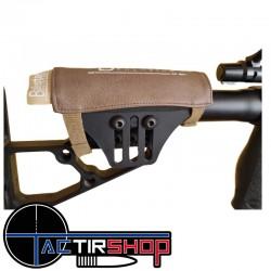 Repose joue Balistae Solution pour crosse tactique de carabine de tir longue distance. www.tactirshop.fr