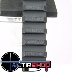 Rail penté picatinny Weapons Accuracy acier 40 Moa pour Remington 700 SA www.tactirshop.fr
