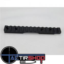 Rail penté picatinny Weapons Accuracy acier inoxydable 40 Moa pour Tikka T1X 22 LR www.tactirshop.fr