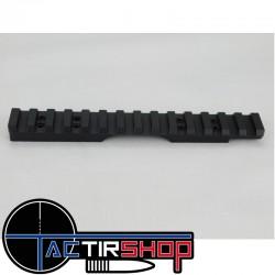 Rail penté picatinny Weapons Accuracy acier inoxydable 40 Moa pour CZ 455 www.tactirshop.fr