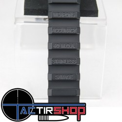 Rail penté picatinny Weapons Accuracy acier inoxydable 40 Moa pour SAVAGE B22 www.tactirshop.fr