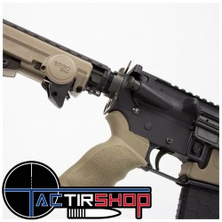 Poignée ERGO TACTICAL SUREGRIP® AR-15 / AR-10 Queue de castor www.tactirshop.fr