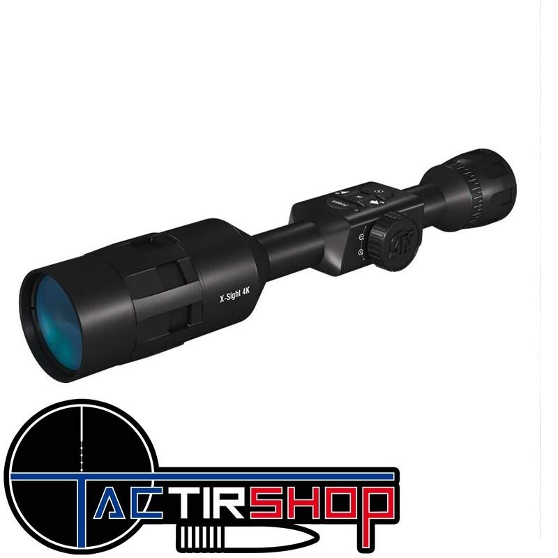 Lunette de tir numérique à vision nocturne ATN X-sight 4K Pro 5-20X www.tactirshop.fr