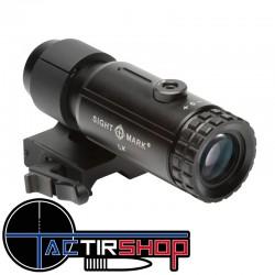Magnifier Sightmark T5 Tactical rabattable sur le côté www.tactirshop.fr