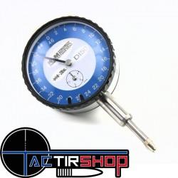 Comparateur à cadran pour pack low force www.tactirshop.fr