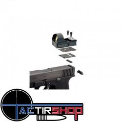 Plaque de montage interface point rouge Nikkostirling Pro T4 pour Glock 9MM www.tactirshop.fr