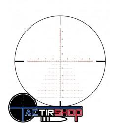 Réticule en premier plan focal de la  Sightmark 6.5-25x56 prs
