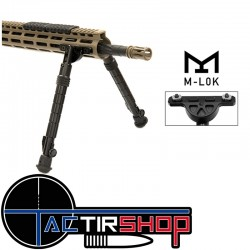 "Bipied M-LOK recon flex 8"" -12"" bidirectionnel 5 position"