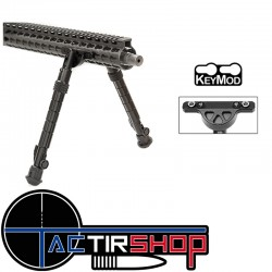 "Bipied Keymod recon flex 8""-12"" bidirectionnel 5 position"