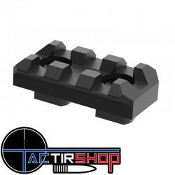 Rail 3 slot aluminium Mil spec  M-LOK  sur Tactirshop