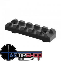Rail 5 slot aluminium Mil spec Keymod sur Tactirshop