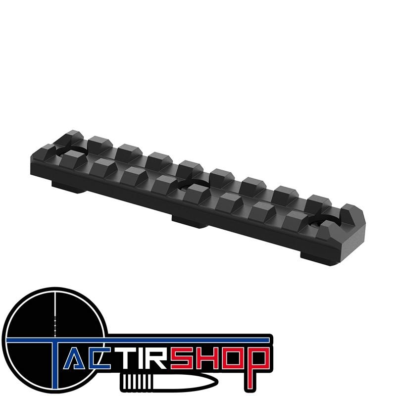 Rail 9 slot aluminium Mil spec M-LOK sur Tactirshop