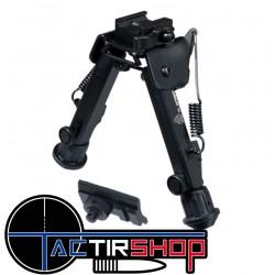 """Bipied UTG® Super Duty, détachement rapide, hauteur centrale de 6,0 """"à 8,5"""" sur www.tactirshop.fr"""