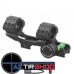 """Montage cantilever Vector Optics Tactical 30mm et 1"""" avec indicateur d'azimut et de niveau su Tactirshop"""