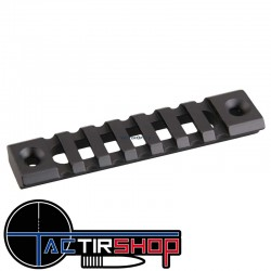 "Section de rail Picatinny KeyMod 4"" 10 cm  aluminium sur www.tactirshop.fr"