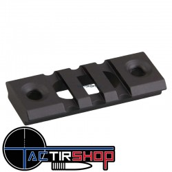 "Section de rail Picatinny KeyMod 2"" 5cm  aluminium sur www.tactirshop.fr"