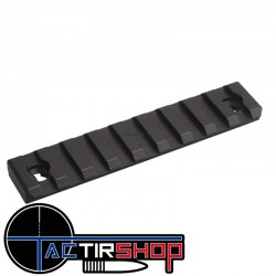 "Section de rail Picatinny Mlok 4"" 10 cm  aluminium sur www.tactirshop.fr"