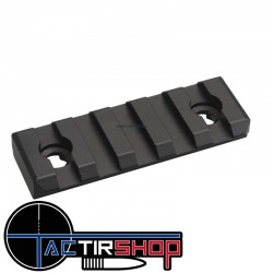 "Section de rail Picatinny Mlok 2"" 5 cm  aluminium sur www.tactirshop.fr"
